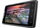 Motorola Droid RAZR Android smartphone - tilted landscape