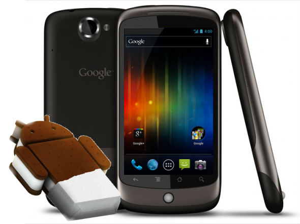 Nexus One received Android 4.0.1 Ice Cream Sandwich port
