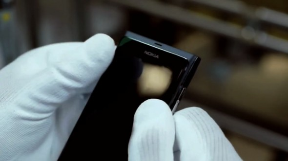 Nokia N9 gets assembled