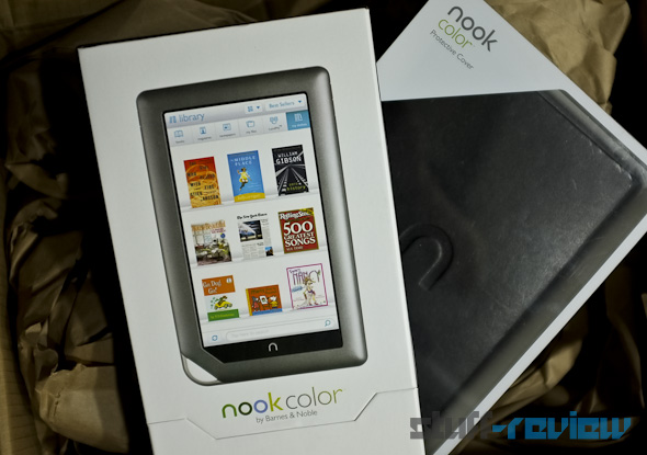 Nook Color and leather cover Stuff-Review giveaway