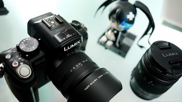 Panasonic GH2 MFT digital camera