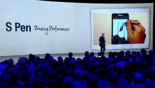 Samsung Galaxy Note London event