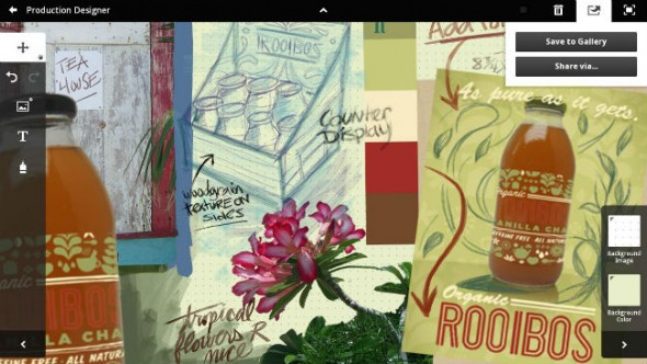 Adobe Collage tablet app
