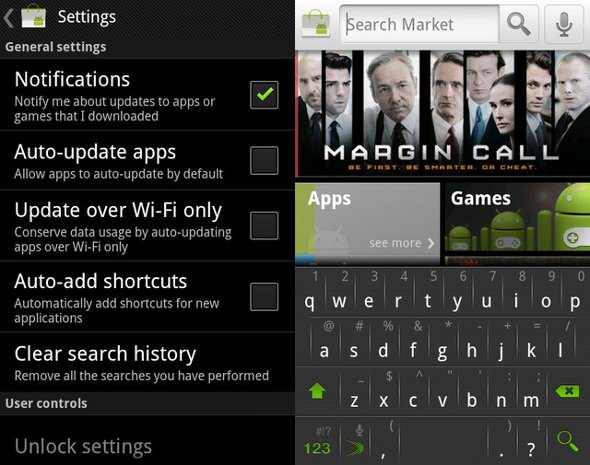 Android Market 3.3.11 update