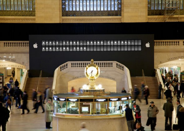 Grand Central Apple Store arriving soon