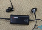 Audio-Technica ATH-ANC23 control unit and earbuds with small rubber tips