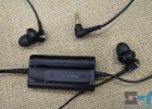 Audio-Technica ATH-ANC23 control unit back and earbuds with small rubber tips