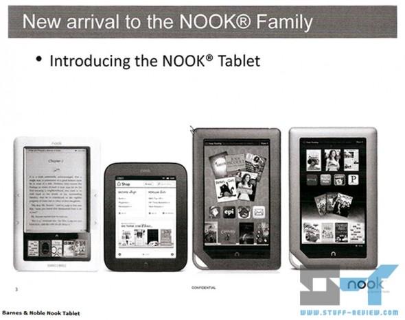 B&N Nook Tablet leak