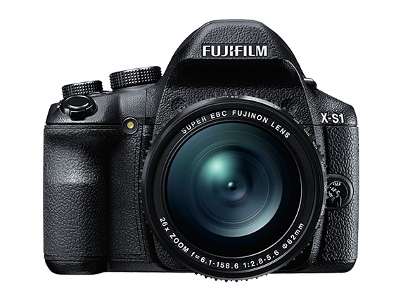 Fujifilm X-S1 front