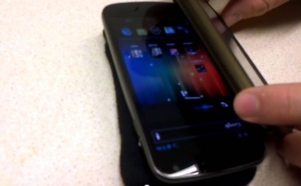 Galaxy Nexus 'volume bug' through radio interference from another 2G GSM 900 device
