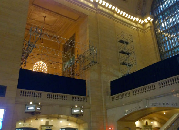 Apple's Grand Central Terminal store spy shot