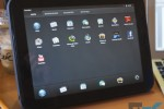 HP TouchPad app drawer