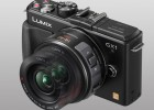 Panasonic Lumix GX1 MFT camera black X series power zoom lens open