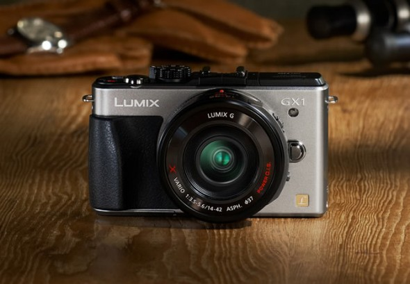 Panasonic Lumix GX1 MFT digital camera silver
