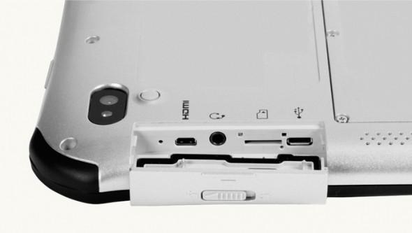 Panasonic Toughpad A1 ports