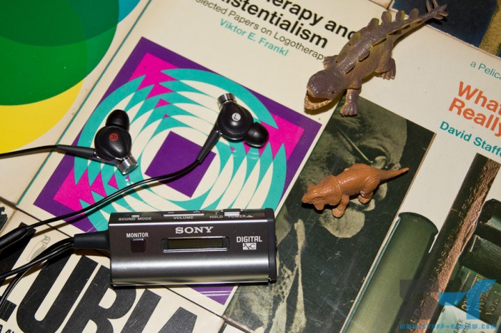 Sony MDR-NC300D with Jurassic friends