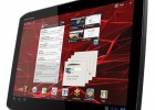 Motorola XOOM 2 10.1-inch Android tablet - Home screen, side