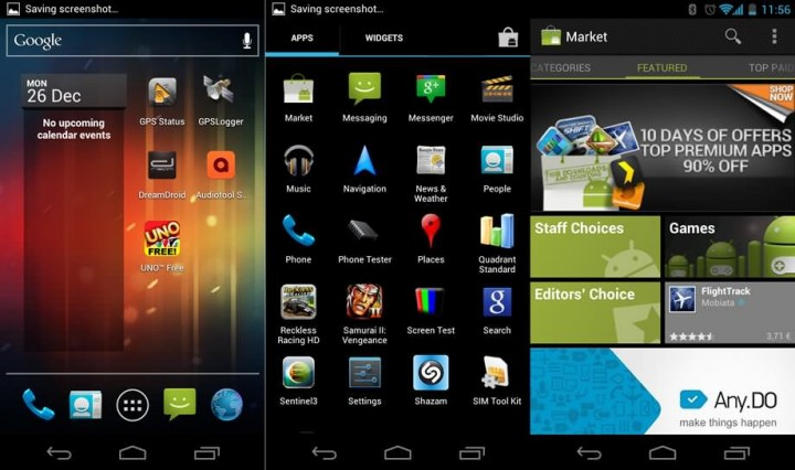 Android Ice Cream Sandwich on the Galaxy Nexus