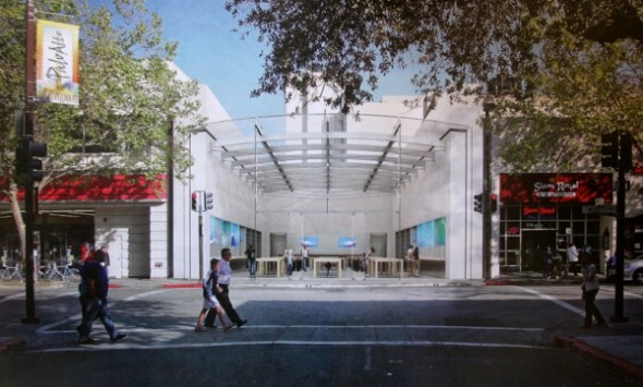 New prototype Apple Store in Palo Alto