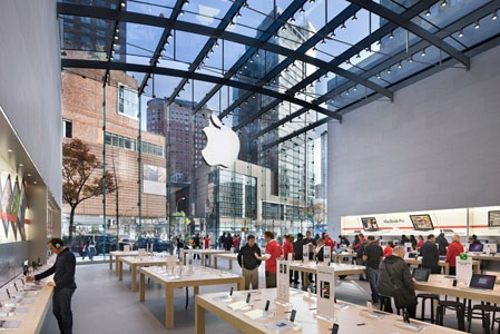 Apple Store in Upper West Side, NY