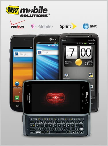 Motorola Droid 4 on Best Buy marketing material