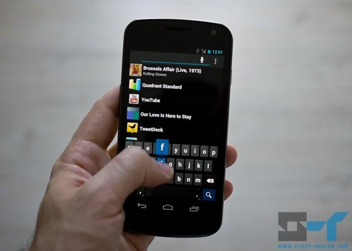 Samsung Galaxy Nexus Android Ice Cream Sandwich new software keypad
