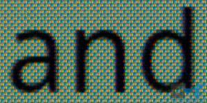 Galaxy Nexus Super AMOLED HD PenTile Matrix display close-up