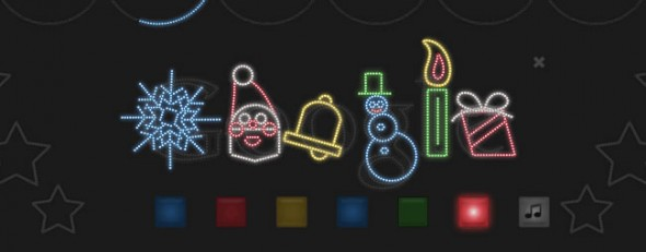 Google Doodle - Merry Christmas