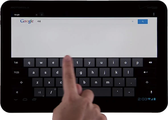 Google Image Search for tablets