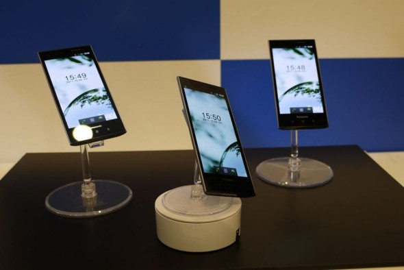 Panasonic Android 4.3-inch OLED Android on stand