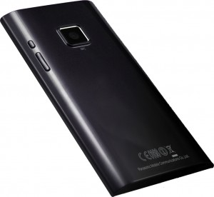 Panasonic Android 4.3-inch OLED Android prototype back