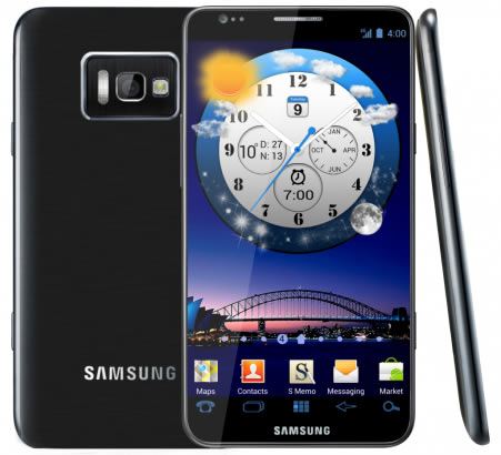 Samsung Galaxy S III concept render