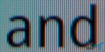 Standard RGB matrix S-LCD display