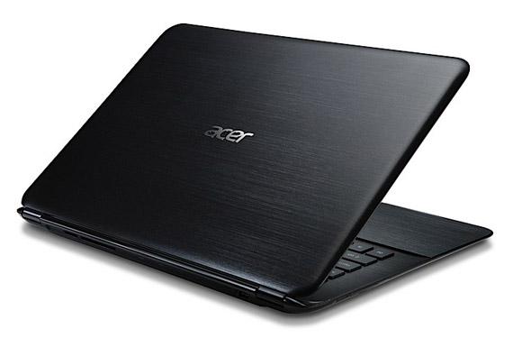 Acer Aspire S5 ultrabook back