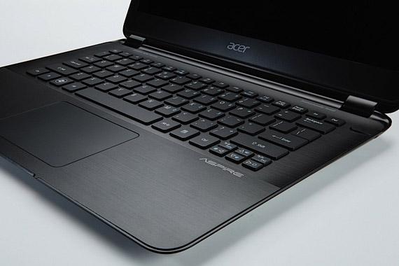 Acer Aspire S5 ultrabook keyboard