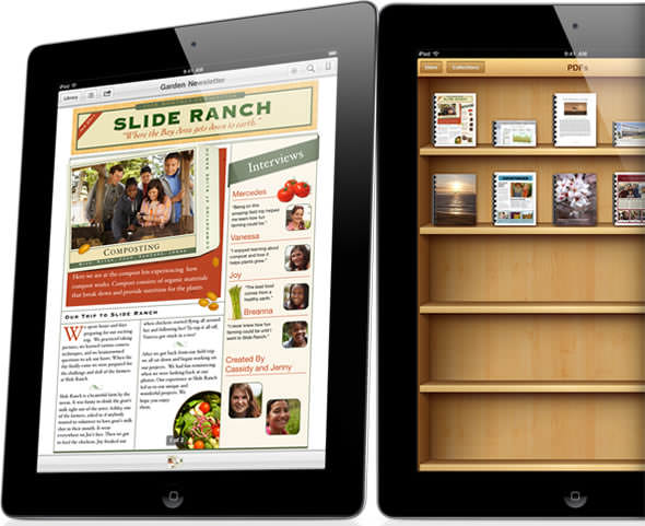 Apple iBooks on iPad