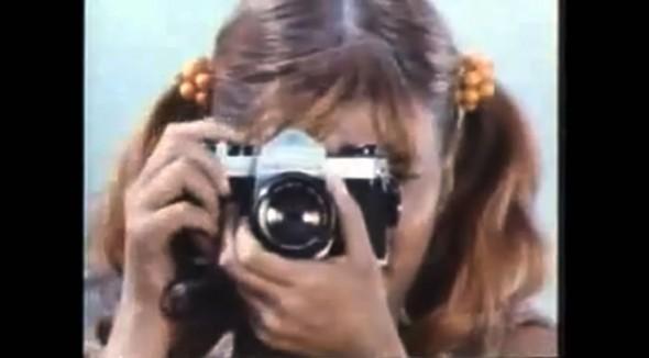 Asahi Pentax 35mm SLR camera commercial