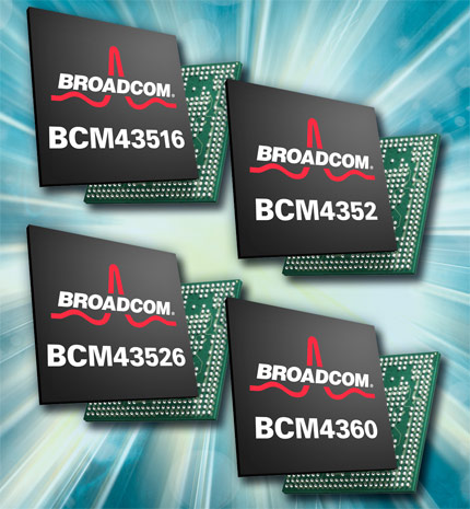 Broadcom 5G Wi-Fi chips