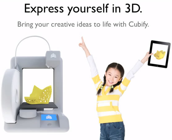 Cubify and Cube 3D - 3D printer and service