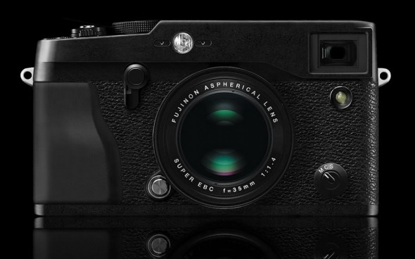 Fujifilm X-series interchangeable lens mirrorless camera system X-Pro1 front