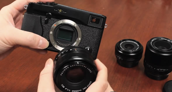 Fujifilm X-Pro1 hands-on videos preview