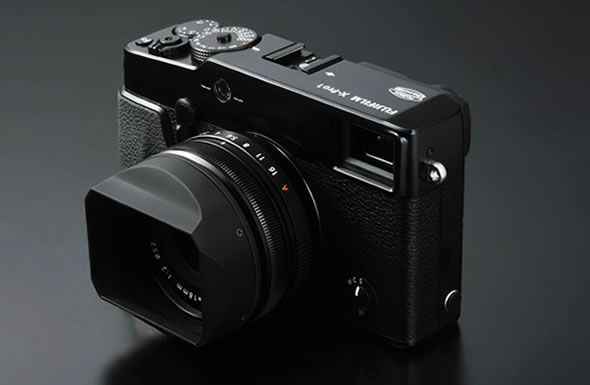 Fujifilm X-Pro 1 camera with 18mm lens