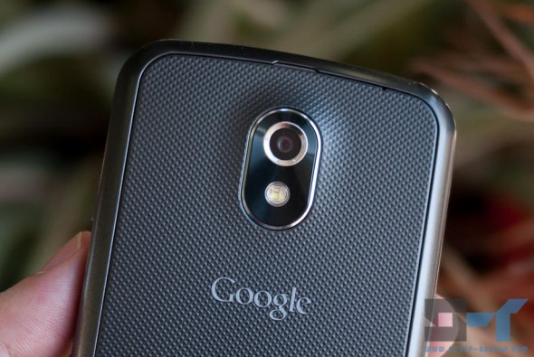 Samsung Galaxy Nexus back close-up