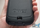 Galaxy Nexus OtterBox Defender series case bottom close-up speaker