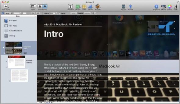 iBook Author: editing a book