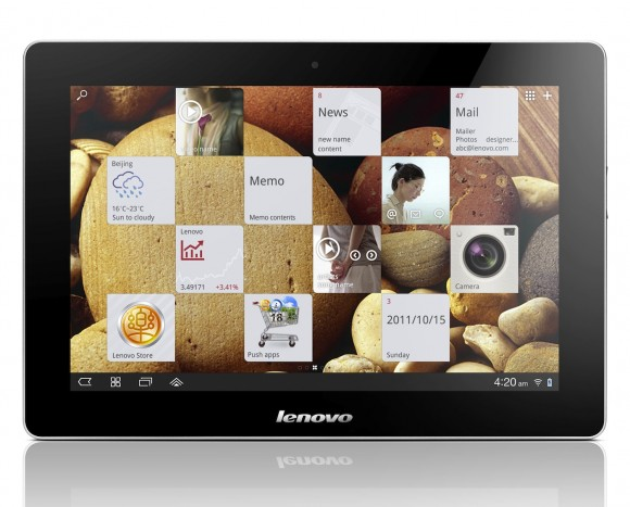 Lenovo IdeaTab S2 10.1-inch Android tablet front