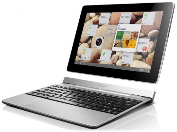 Lenovo IdeaTab S2 10.1-inch Android tablet with keyboard dock