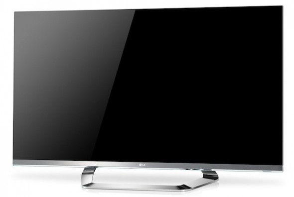 LG Cinema Screen 3D TV with 1mm bezel
