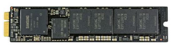 MacBook Air Samsung 470 series controller SSD