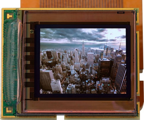 MicroOLED 0.61-inch 5,400k dot 1280x1024 resolution OLED panel